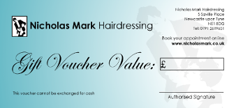Hairdressers Newcastle Gift Vouchers
