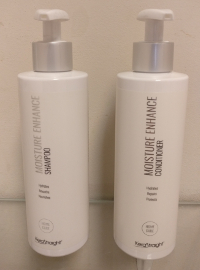 Keratin treatment shampoo and conditioner